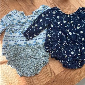 Old Navy baby long sleeve top and bloomer set of 2